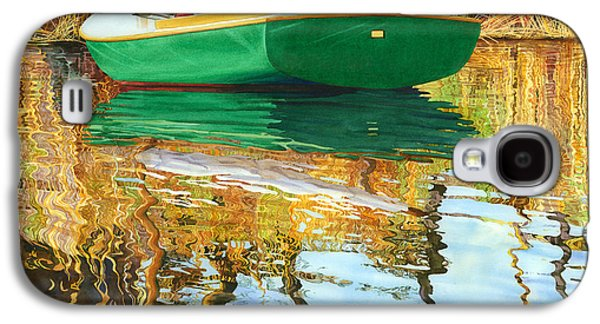 Seacape Galaxy S4 Cases - Moment of Reflection XI Galaxy S4 Case by Marguerite Chadwick-Juner