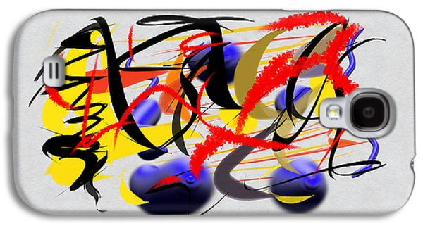 Abstract Digital Art Galaxy S4 Cases - Momentous Galaxy S4 Case by Paulo Guimaraes