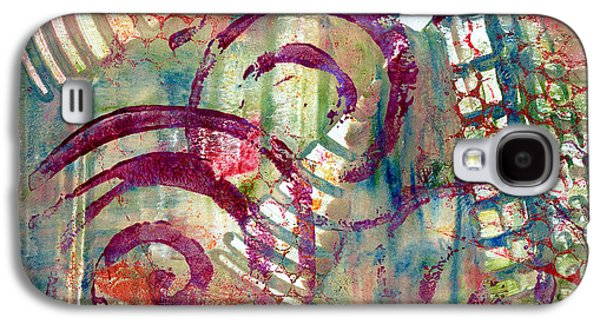Abstract Movement Mixed Media Galaxy S4 Cases - Moments Galaxy S4 Case by Moon Stumpp
