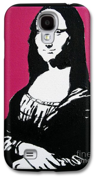 Painter Photo Mixed Media Galaxy S4 Cases - Mona Lisa Galaxy S4 Case by Venus