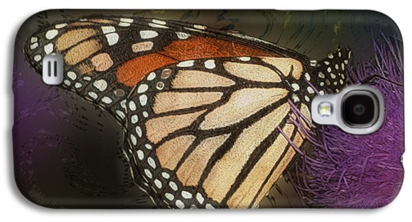 Merging Galaxy S4 Cases - Monarch Butterfly Galaxy S4 Case by Jack Zulli