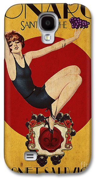 Cabernet Galaxy S4 Cases - Monarch Wine a vintage style ad Galaxy S4 Case by Cinema Photography