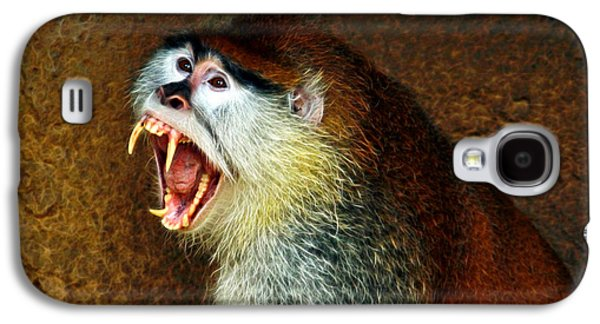 The Tiger Hunt Galaxy S4 Cases - Monkey Fangs Galaxy S4 Case by Steve McKinzie