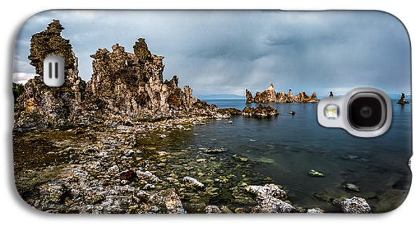 California Tourist Spots Galaxy S4 Cases - Mono Lake Rock Formations Galaxy S4 Case by Jerome Obille