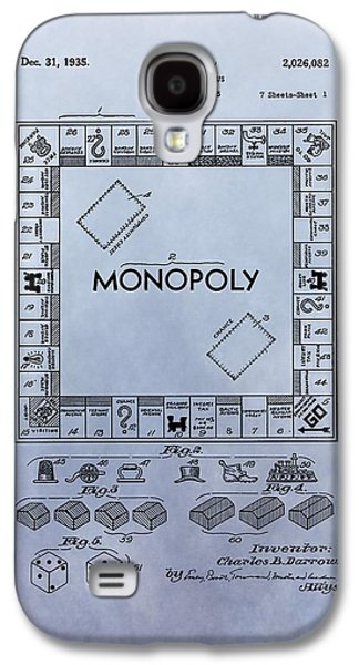 Toy Store Galaxy S4 Cases - Monopoly Board Game Patent Galaxy S4 Case by Dan Sproul