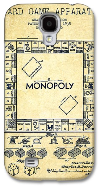 Monopoly Patent From 1935 - Vintage Galaxy S4 Case by Aged Pixel