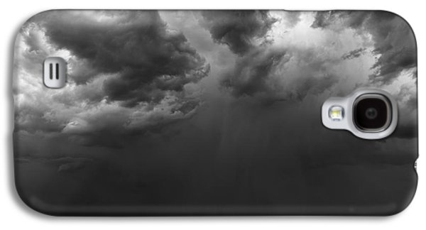 Black And White Galaxy S4 Cases - Monsoon Afternoon Galaxy S4 Case by Duane Miller
