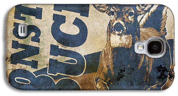 Retro Antique Galaxy S4 Cases - Monster Buck Deer Sign Galaxy S4 Case by JQ Licensing