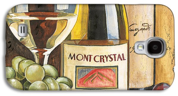 Cabernet Galaxy S4 Cases - Mont Crystal 1988 Galaxy S4 Case by Debbie DeWitt