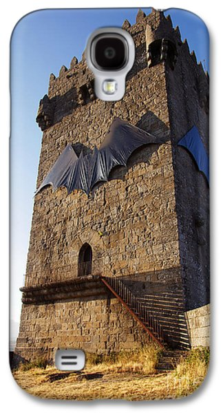 Ancient Galaxy S4 Cases - Montalegre Castle Galaxy S4 Case by Carlos Caetano
