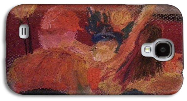 Bobcats Pastels Galaxy S4 Cases - Montana Rivalry Galaxy S4 Case by Steve Jorde