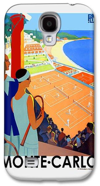 Tennis Photographs Galaxy S4 Cases - Monte Carlo 1930 Galaxy S4 Case by Mark Rogan