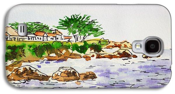 Monterey- California Sketchbook Project Galaxy S4 Case by Irina Sztukowski