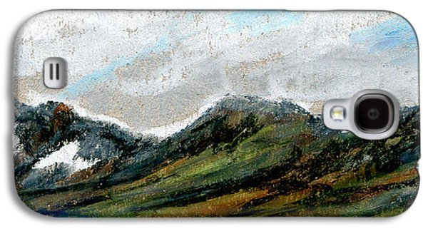 Park Scene Pastels Galaxy S4 Cases - Montes Arcticum - The Arctic Mountains Galaxy S4 Case by R Kyllo