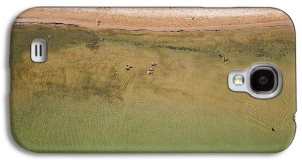 Montrose Beach Dog Park Galaxy S4 Case by Adam Romanowicz
