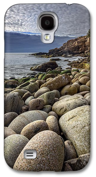 Maine Beach Galaxy S4 Cases - Monument Cove Galaxy S4 Case by Rick Berk