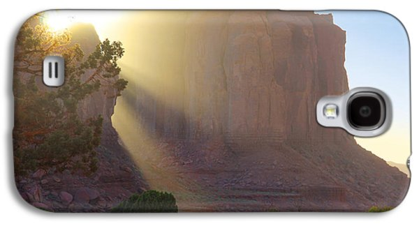 Monument Galaxy S4 Cases - Monument Valley at Sunset 2 Galaxy S4 Case by Mike McGlothlen