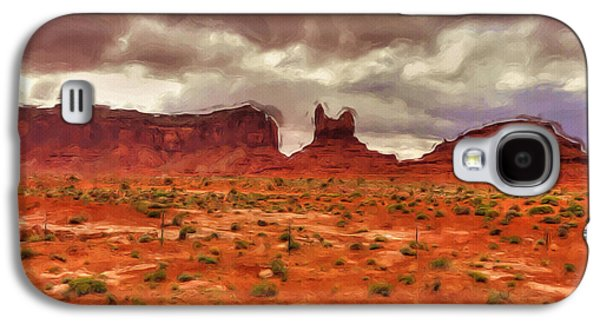 Monument Galaxy S4 Cases - Monument Valley Galaxy S4 Case by Ayse Deniz