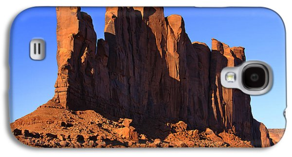 Monument Galaxy S4 Cases - Monument Valley - Camel Butte Galaxy S4 Case by Mike McGlothlen