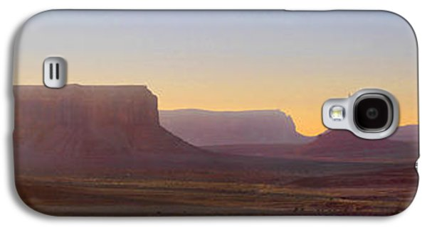 Monument Galaxy S4 Cases - Monument Valley Sunset 3 Galaxy S4 Case by Mike McGlothlen