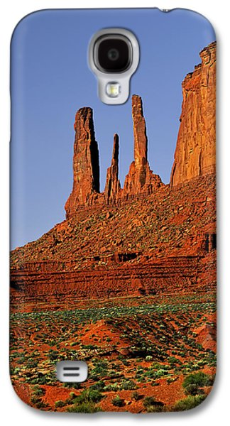 Sisters Galaxy S4 Cases - Monument Valley - The Three Sisters Galaxy S4 Case by Christine Till