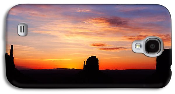Landscapes Photographs Galaxy S4 Cases - Monumental Sunrise Galaxy S4 Case by Darren  White