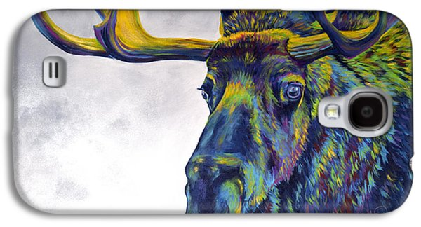 Modern Abstract Galaxy S4 Cases - Moody Moose Galaxy S4 Case by Teshia Art