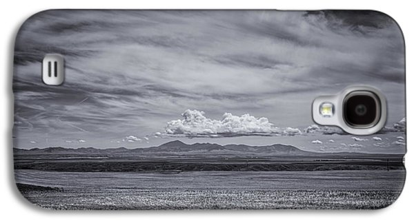 Landscape With Mountains Galaxy S4 Cases - Moody Mountains Galaxy S4 Case by Thomas Young