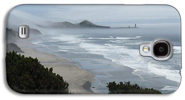 Agate Beach Oregon Galaxy S4 Cases - Moolack Marine 001 Galaxy S4 Case by DDs Outdoors