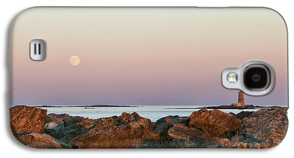 Moon And Whaleback Galaxy S4 Case by Eric Gendron