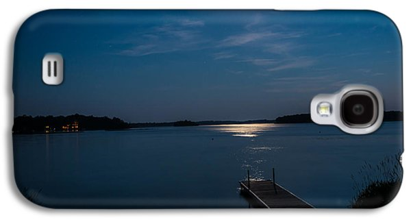 Bouys Galaxy S4 Cases - Moon Light Reflections Galaxy S4 Case by Paul Freidlund