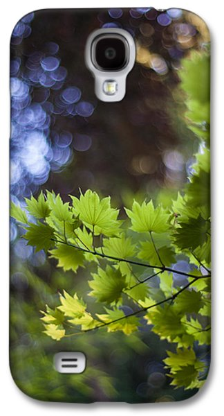 Abstract Nature Galaxy S4 Cases - Moon Maples Montage Galaxy S4 Case by Mike Reid