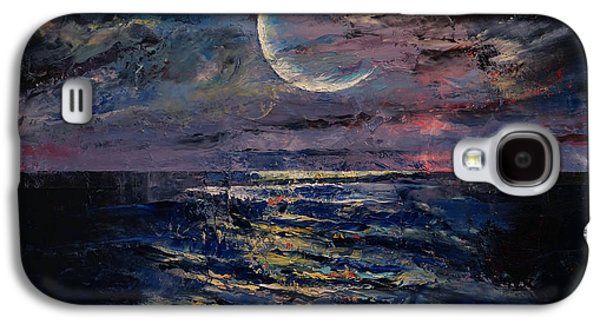 Luna Galaxy S4 Cases - Moon Galaxy S4 Case by Michael Creese