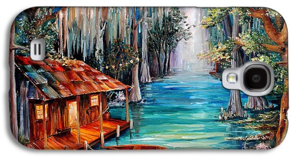 Moon On The Bayou Galaxy S4 Case by Diane Millsap
