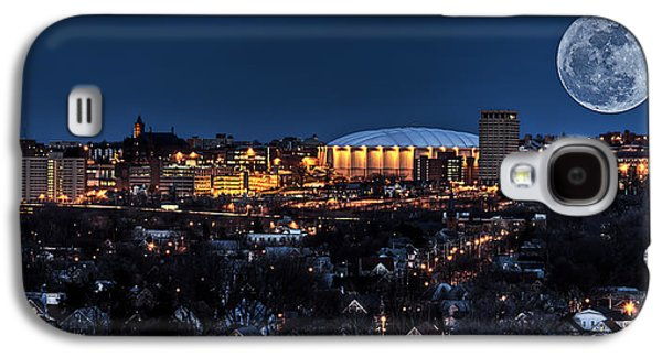 Graduation Galaxy S4 Cases - Moon Over the Carrier Dome Galaxy S4 Case by Everet Regal