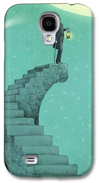 Staircase Galaxy S4 Cases - Moon Steps Galaxy S4 Case by Eric Fan
