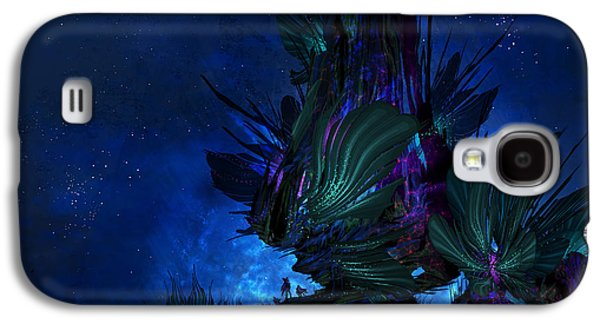 Moon Tree Hills Galaxy S4 Case by Cassiopeia Art