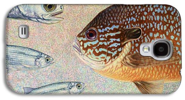 Aquatic Galaxy S4 Cases - Mooneyes Sunfish Galaxy S4 Case by James W Johnson