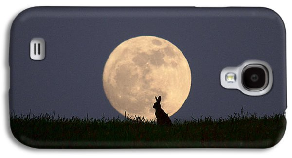 March Hare Galaxy S4 Cases - Moongazer Galaxy S4 Case by Steve Adams