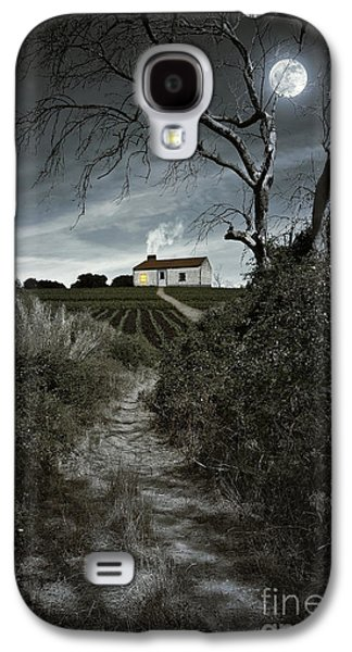 Atmosphere Photographs Galaxy S4 Cases - Moonlight Farm Galaxy S4 Case by Carlos Caetano