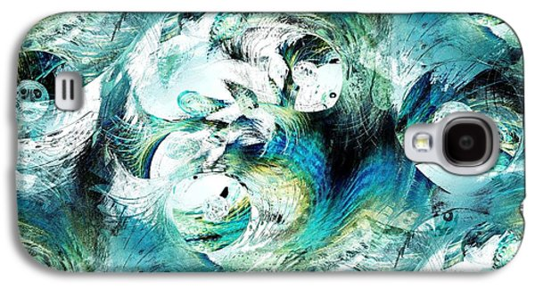 Recently Sold -  - Light Galaxy S4 Cases - Moonlight Fish Galaxy S4 Case by Anastasiya Malakhova