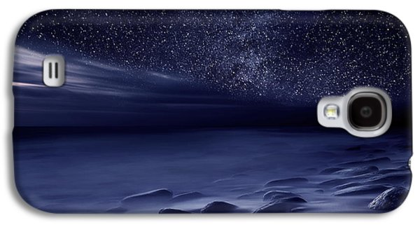 Waterscape Galaxy S4 Cases - Moonlight Galaxy S4 Case by Jorge Maia