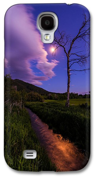 Moonrise Galaxy S4 Cases - Moonlight Meadow Galaxy S4 Case by Chad Dutson
