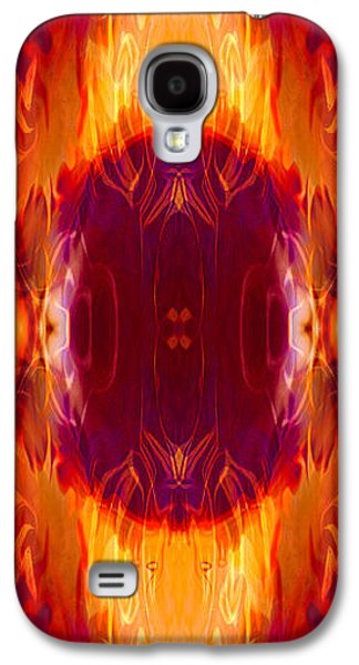Abstract Digital Mixed Media Galaxy S4 Cases - Moonlight Serenade II Galaxy S4 Case by Omaste Witkowski