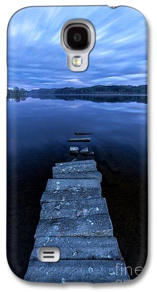 Boats On Water Galaxy S4 Cases - Moonlight Shadow Galaxy S4 Case by John Farnan