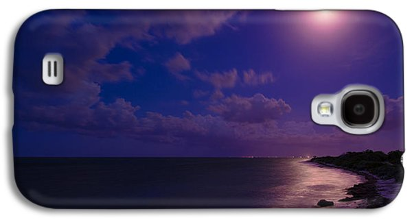 Ocean Panorama Galaxy S4 Cases - Moonlight Sonata Galaxy S4 Case by Chad Dutson