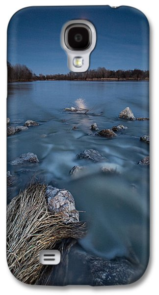 Moonscape Galaxy S4 Cases - Moonlight sonata Galaxy S4 Case by Davorin Mance