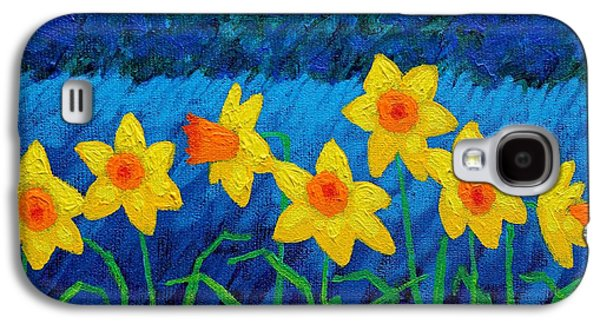 Edition Galaxy S4 Cases - Moonlit Daffodils  Galaxy S4 Case by John  Nolan