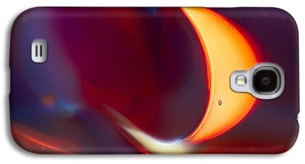 Bright Colors Glass Art Galaxy S4 Cases - Moonlit Galaxy S4 Case by Omaste Witkowski
