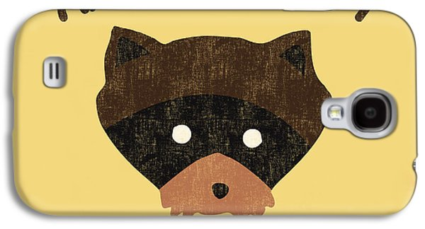 Raccoon Digital Art Galaxy S4 Cases - Moonrise Kingdom Galaxy S4 Case by Budi Satria Kwan